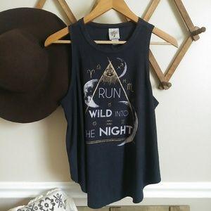 Run wild into the night tank